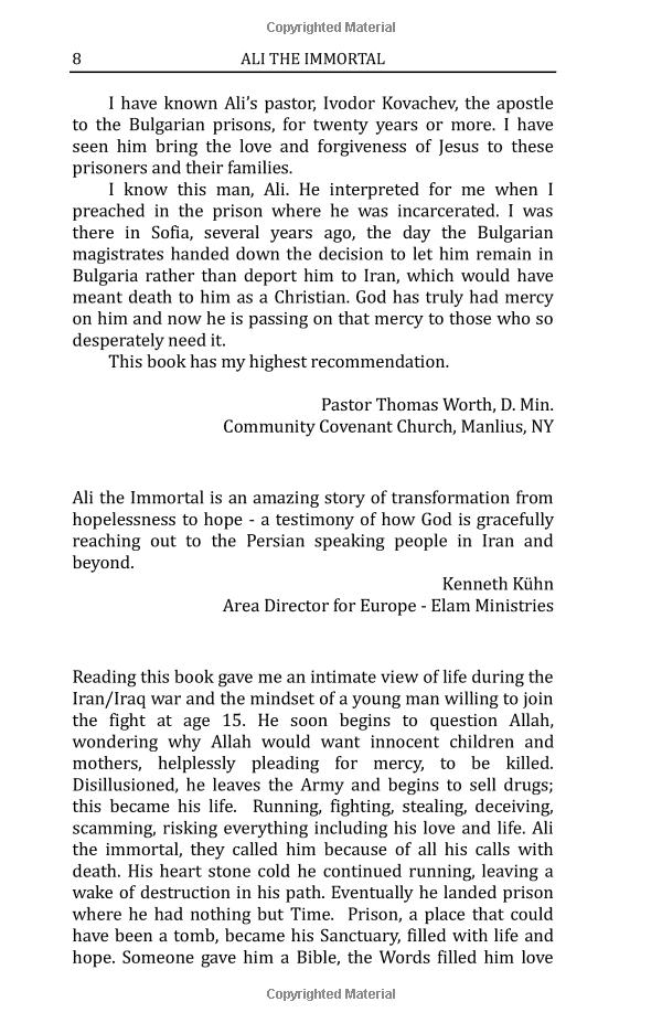 Ali the Immortal - Page 8