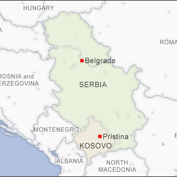 serbia-map